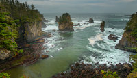 Edge of a Continent - Cape Flattery