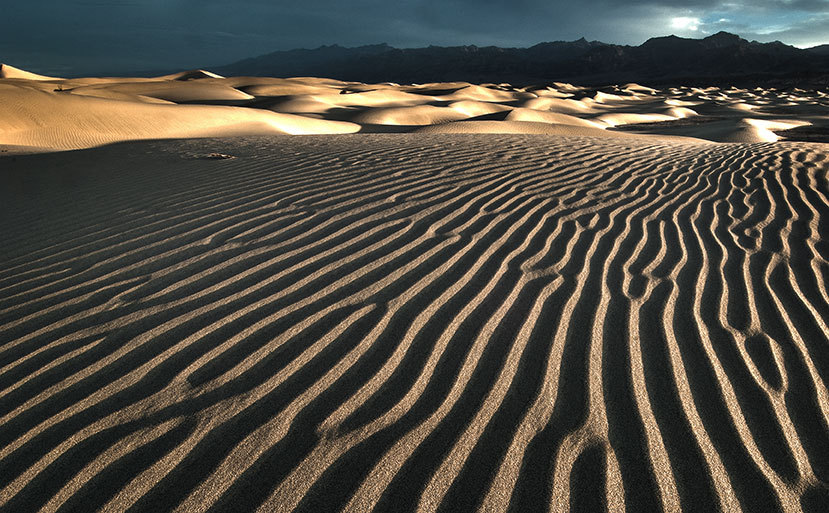 Ripples in the Sand Death Valley : Sand : JOHN MURK PHOTOGRAPHY