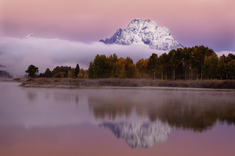 Mount Moran : Grand Teton National Park : JOHN MURK PHOTOGRAPHY