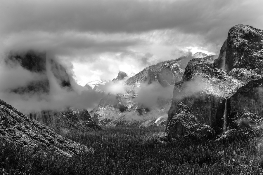Yosemite Valley : Black & White : JOHN MURK PHOTOGRAPHY